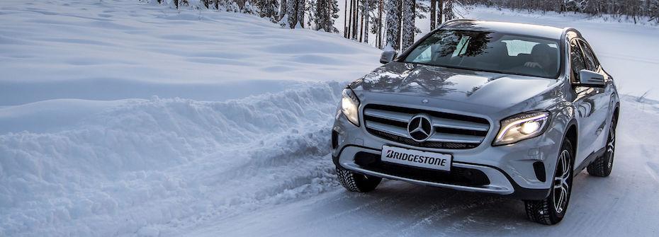 Mit Bridgestone sicherer durch den Winter